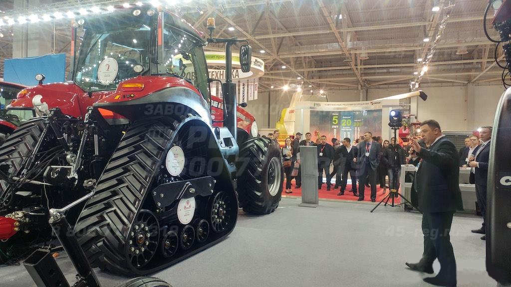 Новый трактор CASE MAGNUM