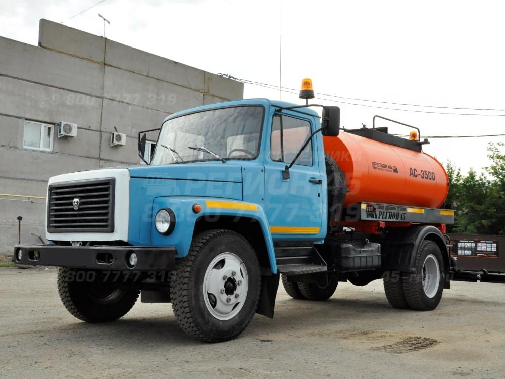 Купить Автогудронатор на шасси ГАЗ АС-3309 «Регион 45»