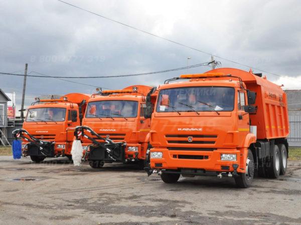 Купить КДМ на базе самосвала КамАЗ Р-45.115 «Регион 45»